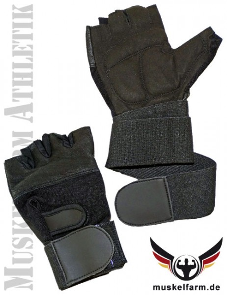 Trainingshandschuhe Fitness mit Bandage