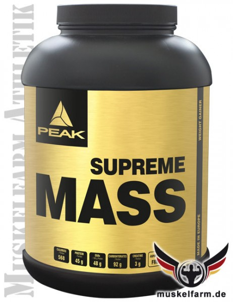 Peak Supreme Mass