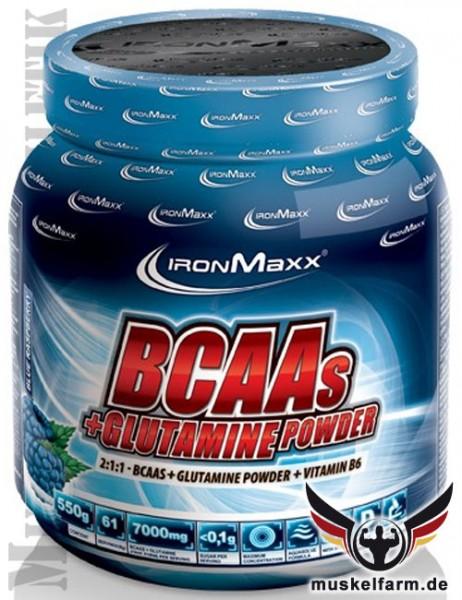 IronMaxx BCAA + Glutamin Powder