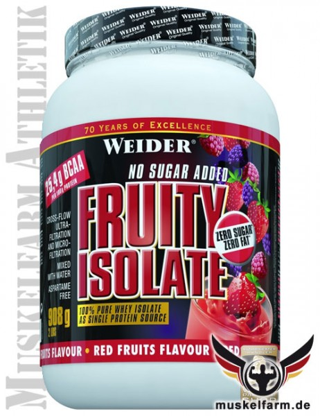 Weider Fruit Isolate