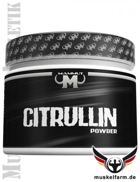 Mammut Citrullin Pulver