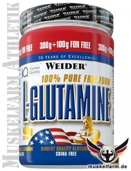 Weider L-Glutamine Pulver