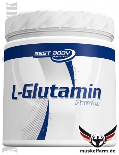 Best Body Nutrition Glutamin Pulver