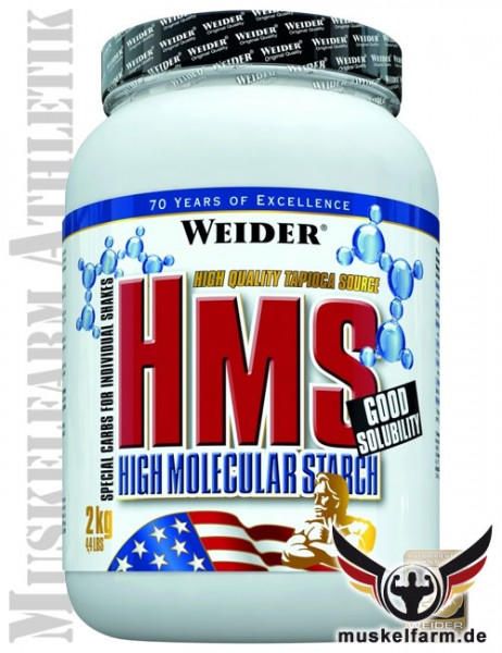 Weider HMS High Molecular Starch