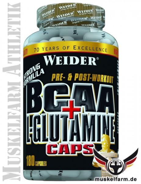 Weider BCAA + Glutamin Caps