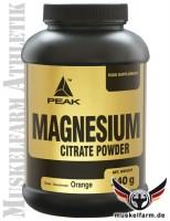 Peak Magnesium Citrat Pulver