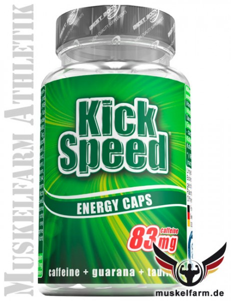 Best Body Nutrition Kick Speed Kapseln