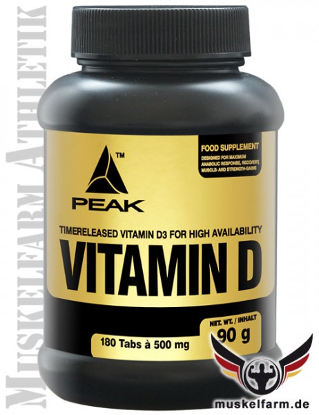 Peak Vitamin D