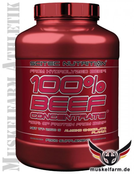 Scitec Nutrition 100% Beef Protein Concentrate