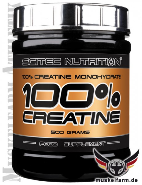 Scitec Nutrition 100% Creatin Monohydrat