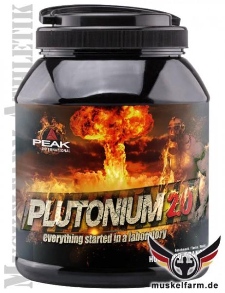 Peak Peak Plutonium