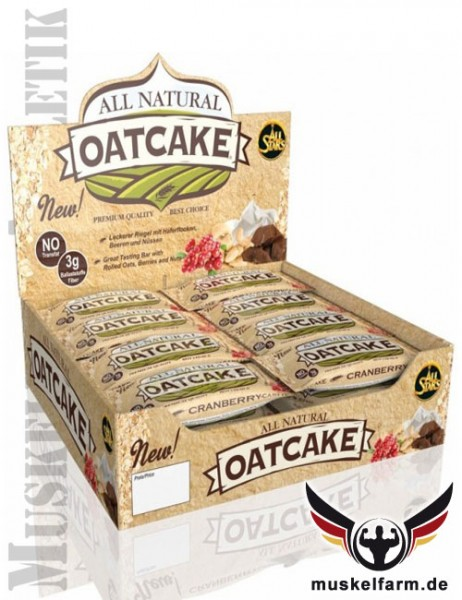 All Stars All Natural Oatcake Energy Bar