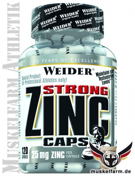 Weider Strong Zink Caps