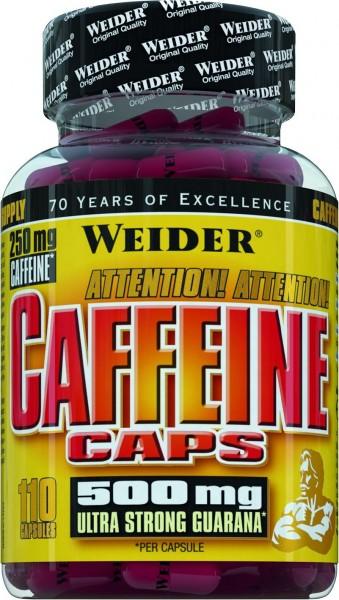 Weider Caffeine Caps