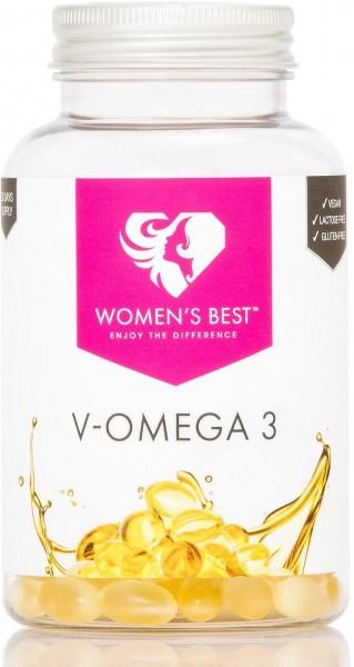 Womens Best V-Omega 3, 90 Kapseln Dose