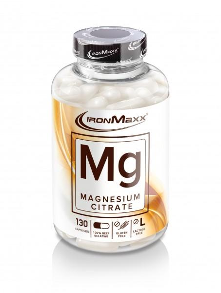 IronMaxx Mg Magnesium, 130 Kapseln