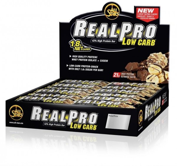 All Stars real Pro Bar Display