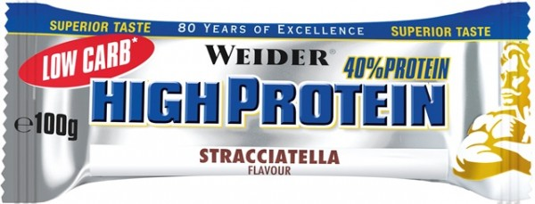 Weider 40% High Protein Bar