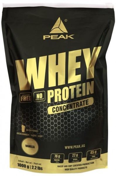 Peak Performance Whey Protein Concentrate