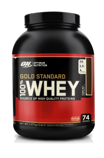 Optimum Nutrition 100% Whey Gold, 2270 g Dose
