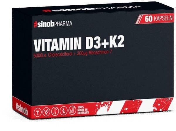 BlackLine 2.0 Vitamin D3 + K2