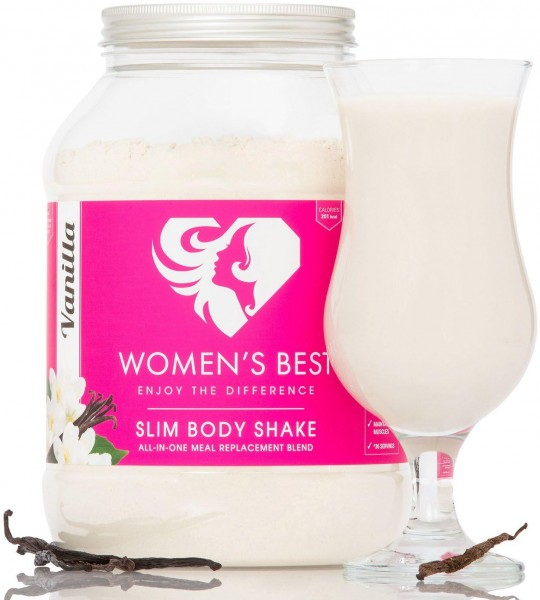 Womens Best Slim Body Shake, 1200 g Dose